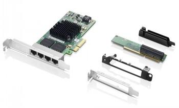 LENOVO INTEL I350-T4 4-PORT GIGABIT ETHERNET PCIE